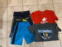 Boys size small summer clothes  Georgetown, L7G 5W7