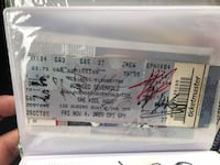 Avenged Sevenfold Autograph with The Rev Toronto, M6L 2N8