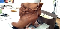 STEVE MADDEN leather booties (size 8) Burnaby, V5H 2W2