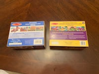 Melissa and Doug 2 jigsaw puzzles. All pieces are there  Woodbridge, 22193