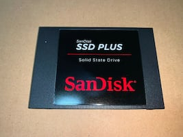 Sandisk Plus SSD 120GB Hard Drive