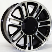 """22"""" GMC / Chevy Replica Wheels. Tires included."""