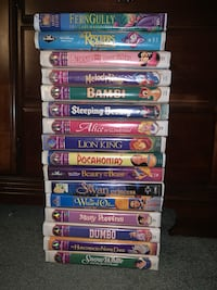 Classic Kids Disney Movies VHS  Perry Hall, 21128