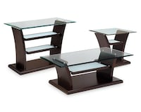 Bell Aer 7 Piece Table Set - Merlot - LORTON