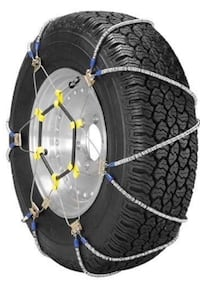 One Set of Two Winter Weather Tire Chains