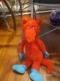 1960s Plush dr suess doll