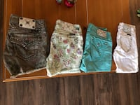 Miss me shorts x 3 and capris x 1 Youngtown, 85363