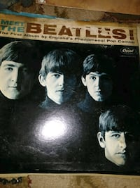 Beatles album first & second one great  shape