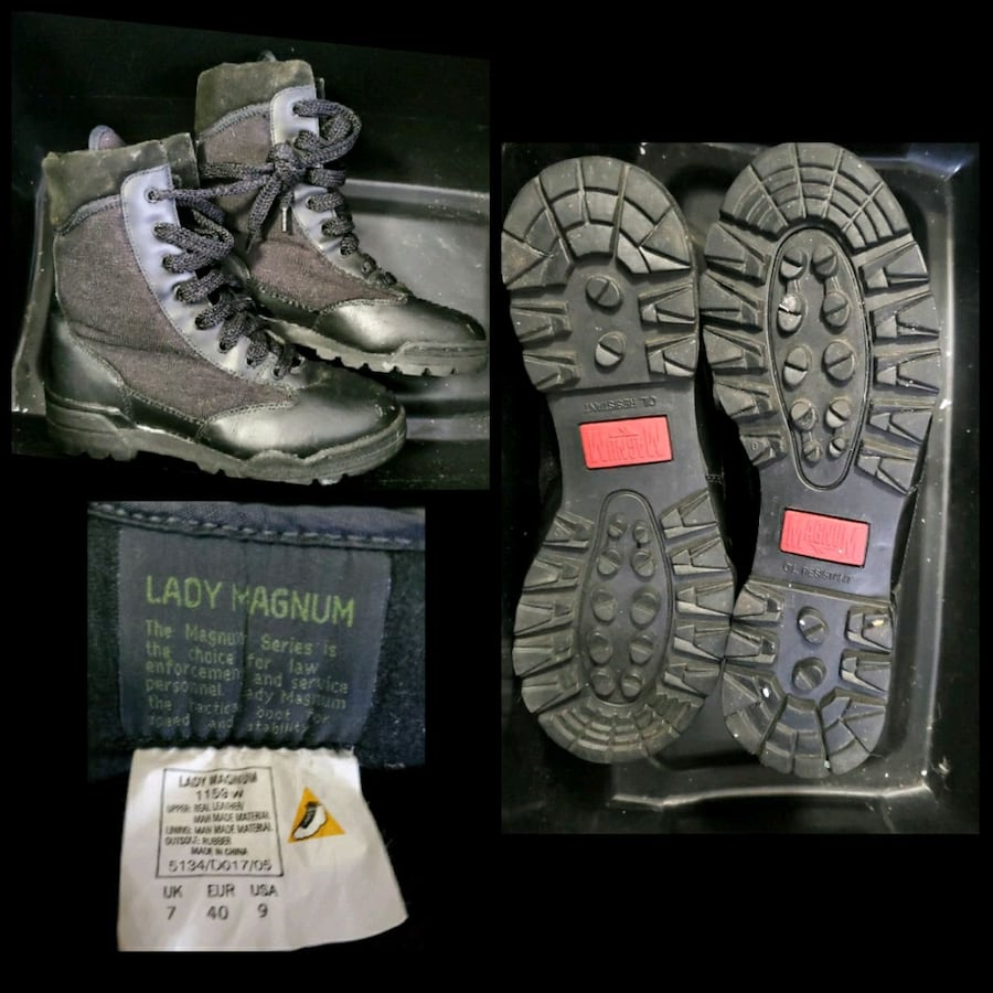 Lady Magnum size 7 boots, new. $40.00