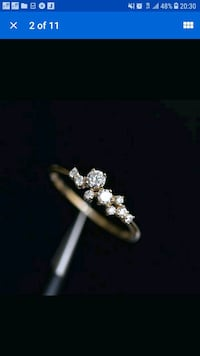 Gold filled ring size 9 10 New York, 10018