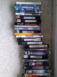 150-200 Movies, DVD and VHS