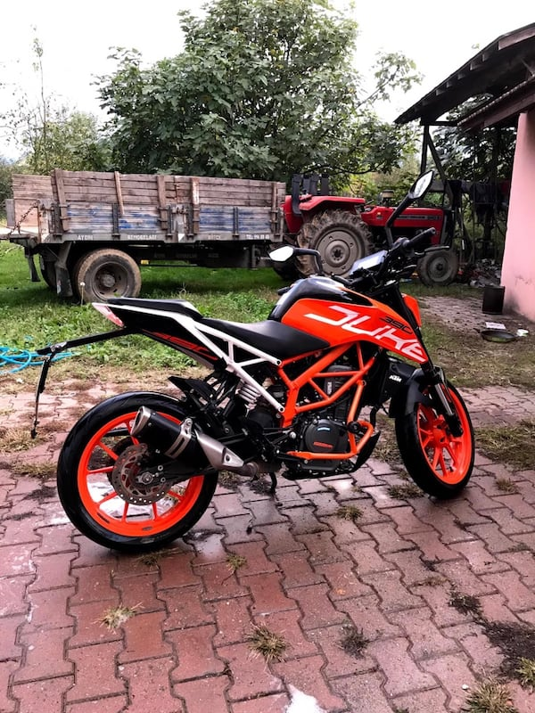 KTM 390 2017 MODEL KM:13.000 be51cf24-8405-4482-80ca-ed71d8707487