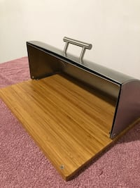 Stainless steel bread box The Nation / La Nation, K0A 2M0