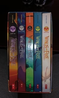Wings of fire set 1-5