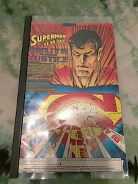 Year one. Superman comic book Newark, 07107