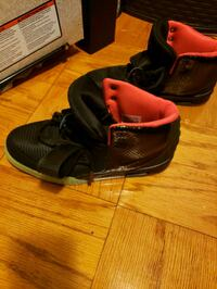 pair of black Nike Air Yeezy shoes Silver Spring, 20903