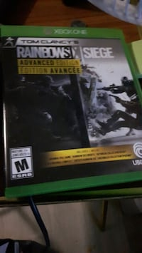 Xbox One Tom Clancy's Rainbow Six Siege case Edmonton, T5P 2H2
