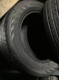 Set of 215/55R16 Continental ContiProcontact with 90+ % tread life! Toronto, M3J 3A4