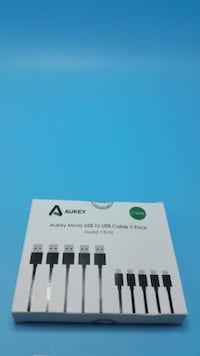Aukey Micro USB to USB Cable 5 Pack CB-D5 Eastvale