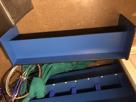 Daycare preschool table converts to bench