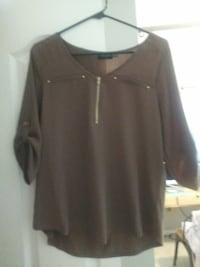 ZIP UP BLOUSE St. Augustine
