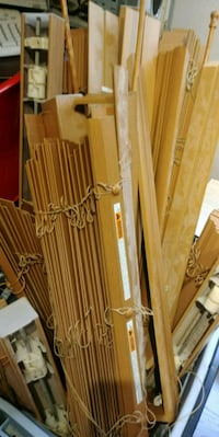 Wood like blinds for bay window(3pc) Hamilton, L8E 5L6