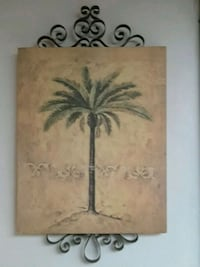 Palm tree painting Hamilton Township, 08629
