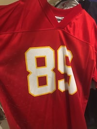 NFL & Kansas City Chief Legend Andre Rison Jersey (XL) Washington, 20016