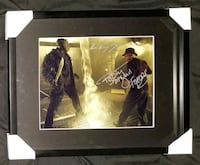 Freddy vs Jason Signed Photo Framed w/COA  Caledon, L7E 2X9