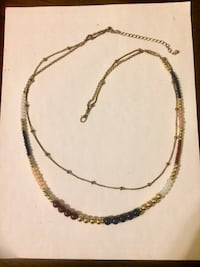 black and brown beaded necklace Hamilton, L8L 6M8