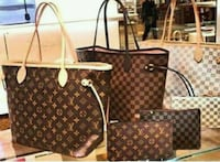 brown Louis Vuitton monogram tote bag London, EC2V