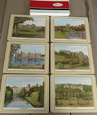 Pimpernal 6 English castles placemats Woodstock, 22664
