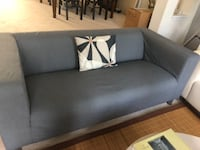 Klippan sofa with cover Ashburn
