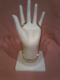 Vintage square linked chain necklace  Fort Saskatchewan, T8L 4R3
