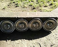 64 Buick medal hubcaps