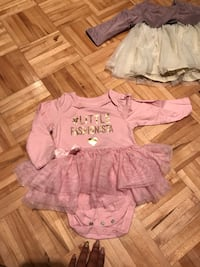 Two baby doll tops - size 9-12 months  Laval, H7W 2Z8