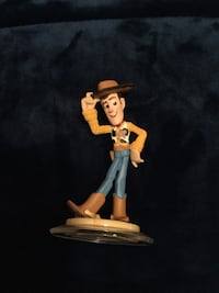 Toy Story Sheriff Woody plastic toy