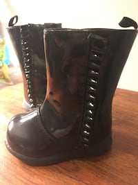 Black Toddler Boots Size 2 27 km