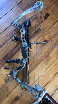 black and brown compound bow Frederick, 21701