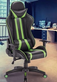 New in box racing style chair home office computer gaming chair black blue green red white Los Angeles, 90032