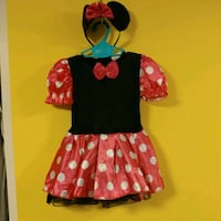 92-104 cm girl mini mouse costume Montréal, H2M 1S8