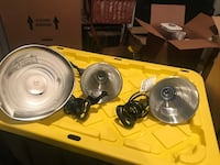3 No of Clamp-on- Task Light of different sizes Vienna, 22182