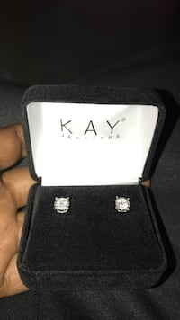 K A Y Jewelers  10k White gold solitaire diamonds  Riverdale, 30274