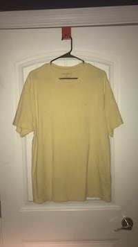 women's yellow scoop-neck shirt Pense No. 160