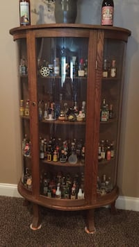 Cabinet  with miniature liquor bottle collection 200 sealed bottles Morgantown, 26508