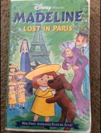Madeline - Lost in Paris VHS Movie San Leandro, 94577