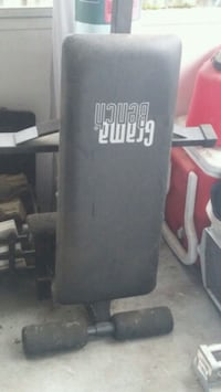 black and gray Everlast heavy bag Vancouver