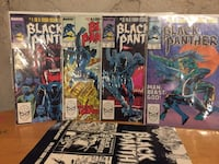 Black Panther Marvel Comics and poster