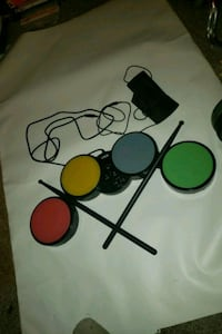 Intec usb drum pads for wii/xbox 360/ps3 Edmonton, T5K 1T7
