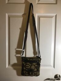 black and gray Coach sling bag Newmarket, L3Y 8H9